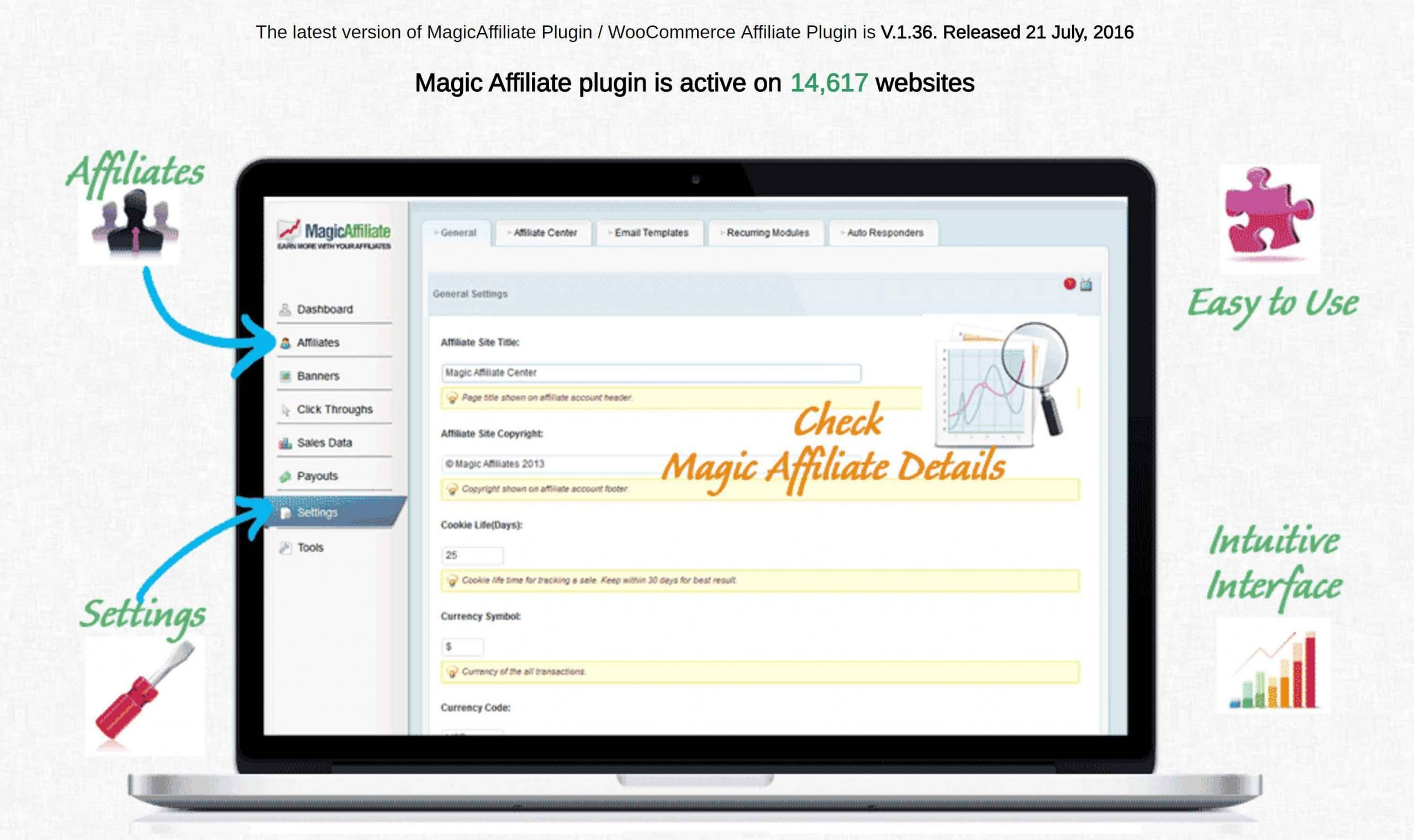 Magic Affiliate Plugin