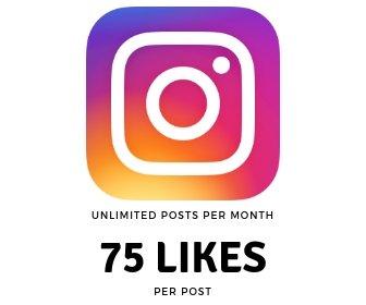 75 Instagram Likes