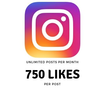 750 Instagram Likes