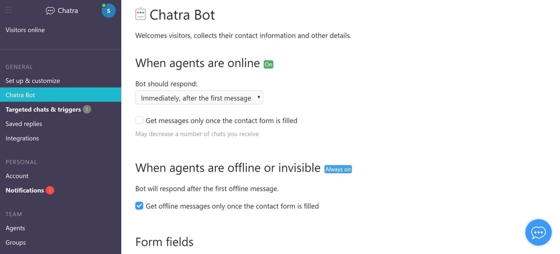 Chatra review Best eCommerce Chat Box